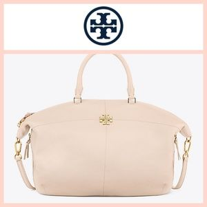 Tory Burch Ivy Slouchy Satchel Expandable